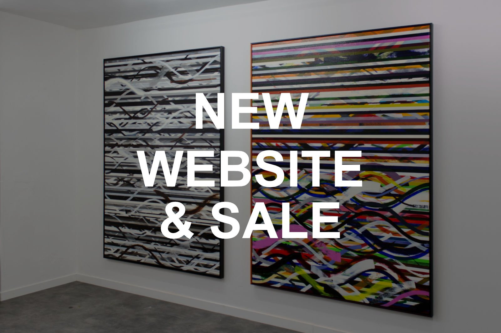 NEW WEBSITE & SALE