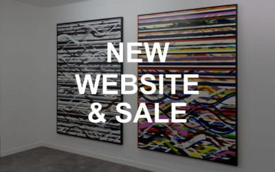 New Website and Sale